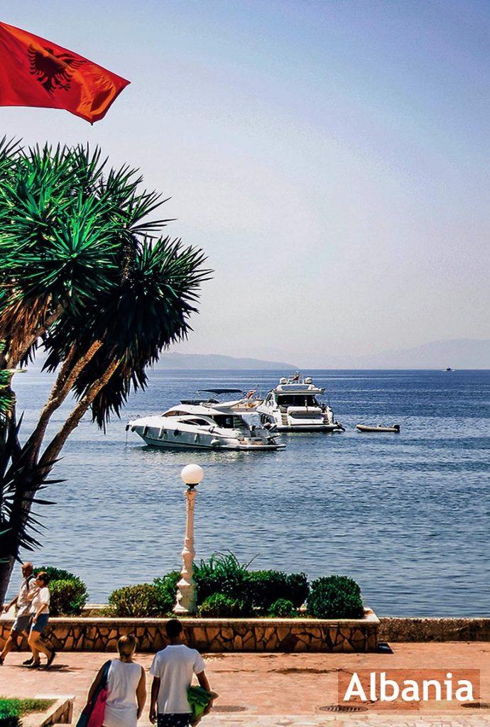 Coast of Albania