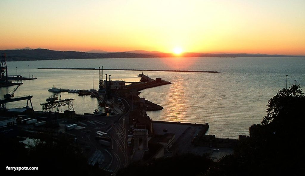 Sunset views in Ancona