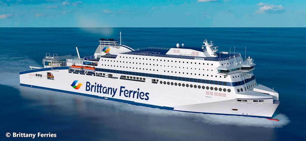 Cruise Ferry Brittany Ferries