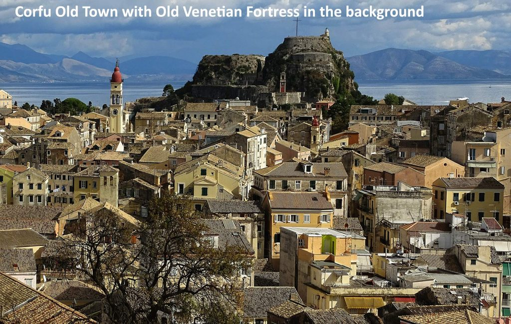 Old Town with Venetian fortress in the background