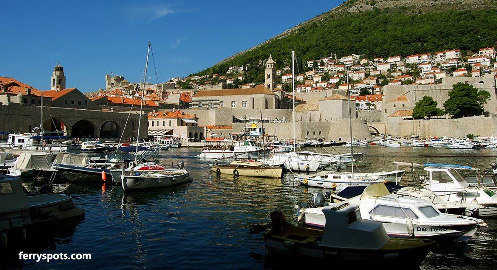Views over Dubrovnik's Old Port