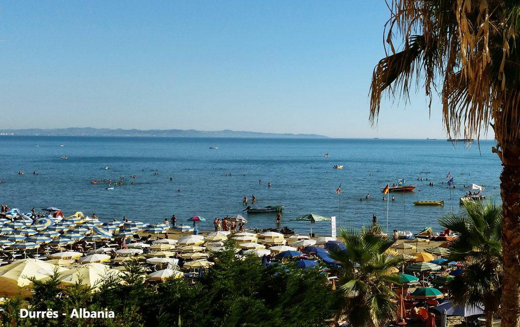 Lovely coastline of  Durrës