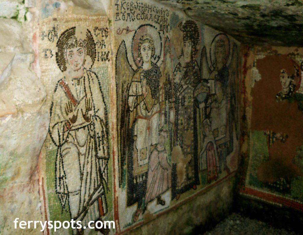 Mosaics in Durres