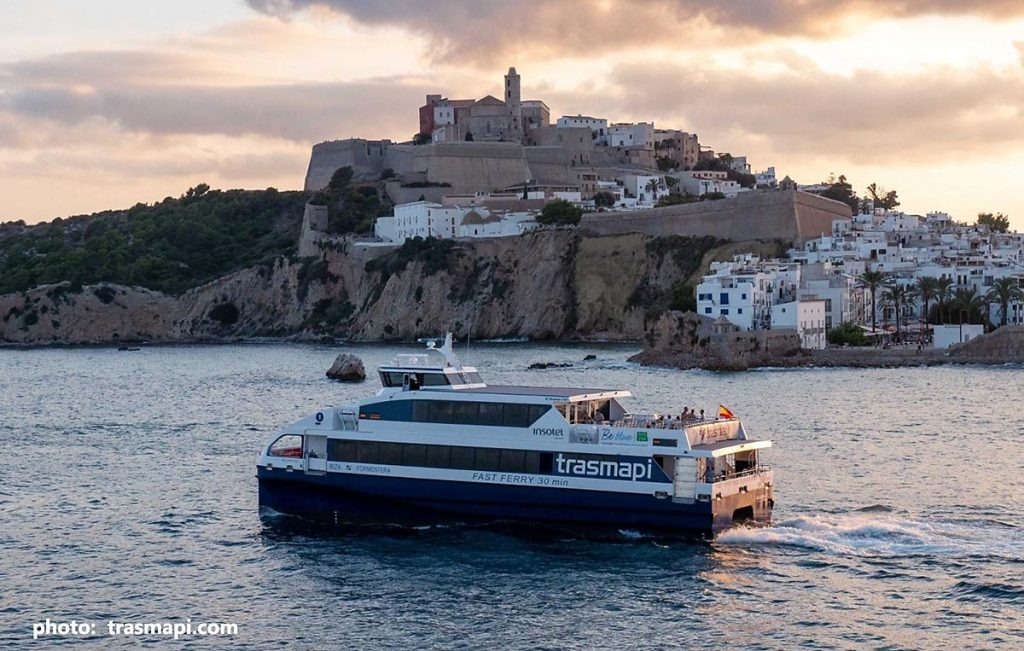 Trasmapi's Migjorn Jet while serving Ibiza ferry crossings