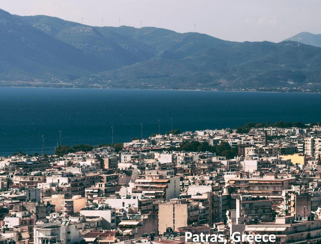 Views over Patras