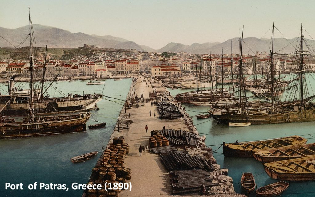 This is how this lovely port looked at the end of 19th century