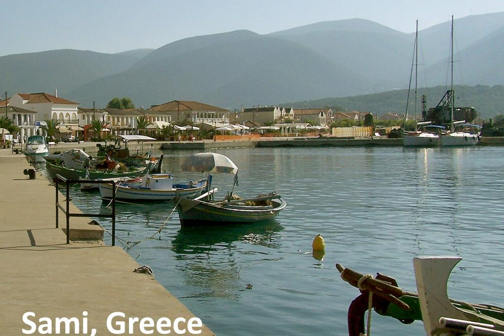 Sami, Greece - port and harbour