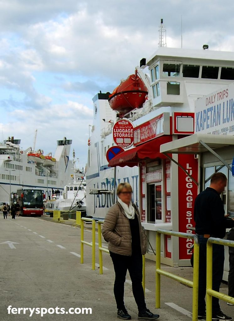 Left Luggage (Luggage Storage) in Split Ferry Port